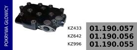 pokrywa głowicy KZ433
