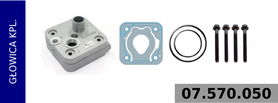 Głowica kompresora 411 151 003 0