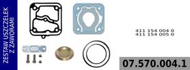 zestaw naprawczy głowicy 411 154 004 0