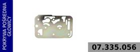 płyta pośrednia głowict kompresora 412 352 004 0