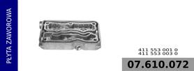 płyta pośrednia głowict kompresora 411 553 001 0