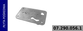 płyta pośrednia głowicy kompresora 412 704 001 0