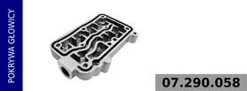 pokrywa głowicy kompresora 412 704 001 0