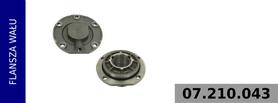 flansza wału kompresora 911 505 150 0