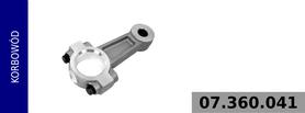 Korbowód kompresora 911 504 050 0