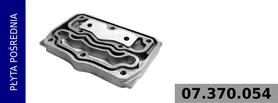 płyta pośrednia głowicy kompresora 911 504 500 0
