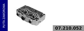 płyta zaworowa kompresora 911 505 150 0