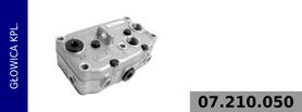 Głowica kompresora 911 505 150 0