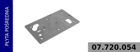 płyta pośrednia głowicy kompresora 912 510 000 0