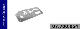 płyta pośrednia głowicy kompresora 912 518 000 0