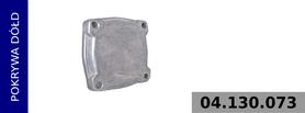 Pokrywa korpusu kompresora (4 otwory)