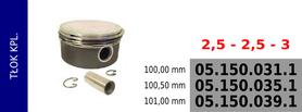 tłok kompresora 100,00 mm
