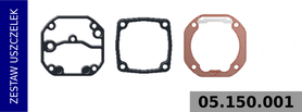 zestaw uszczelek kompresora 100 mm