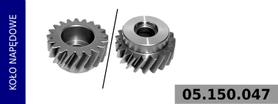 koło napędowe kompresora 100 mm