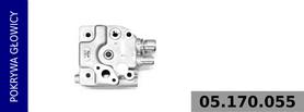 Pokrywa głowicy kompresora  100 mm
