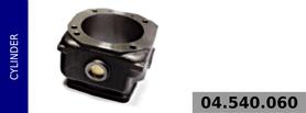 Cylinder kompresora 100 mm - chłodzony wodą