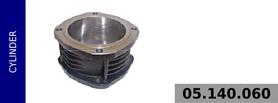 Cylinder kompresora 94 mm - chłodzony powietrzem