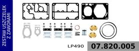 zestaw naprawczy głowicy kompresora  LP490