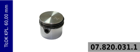 tłok kompresora 60,00 mm