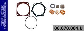 zestaw naprawczy głowicy kompresora 100 mm RVI
