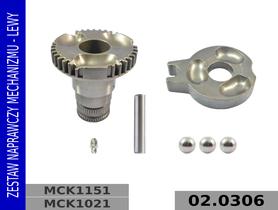 zestaw naprawczy MCK1021. MCK1151