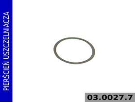 pierścień uszczelniacza 03.0027.7