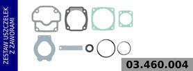 Zestaw naprawczy głowicy kompresora LK18.. / LP18..