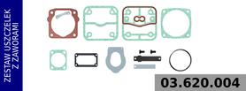 zestaw naprawczy głowicy LK3505