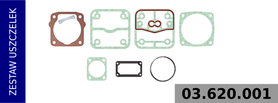 zestaw uszczelek kompresora LK3505