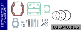 zestaw naprawczy głowicy LK3930