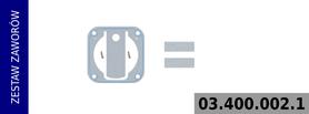 Zestaw zaworów kompresora LK3833