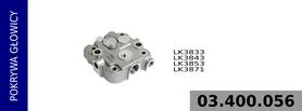 pokrywa głowicy kompresora LK3833