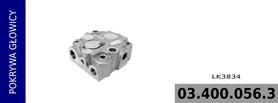 pokrywa głowicy kompresora LK3834 / LK3835 / LK3857