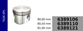 tłok kompresora 80,00 mm
