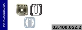 płyta zaworowa kompresora LK3836