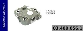 pokrywa głowicy kompresora LK3836