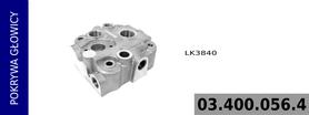 pokrywa głowicy kompresora LK3840