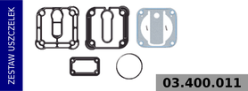 zestaw uszczelek kompresora LK3837