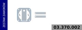 Zestaw zaworów kompresora LP3980