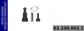 zestaw zaworów sterowania poborem mocy