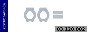 Zestaw zaworów kompresora LP4861