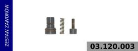 zestaw zaworów sterowania poborem mocy LP4857