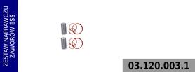 zestaw zaworów sterowania poborem mocy LK4935