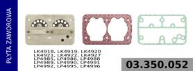 płyta zaworowa kompresora LK4918