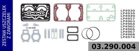 zestaw naprawczy głowicy LP4930