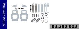 Zestaw zaworów kompresora LP4930