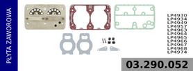 płyta zaworowa kompresora LP4930
