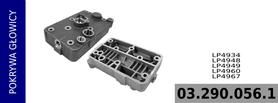pokrywa głowicy kompresora LP4934