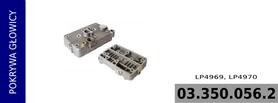 pokrywa głowicy kompresora LP4969