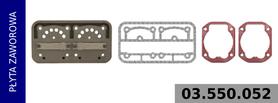 płyta zaworowa kompresora LK4908